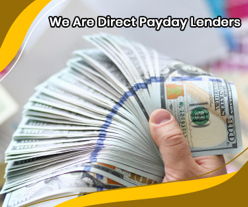 We Are Direct Payday Lenders