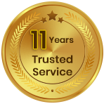 8 Years Trusted Service